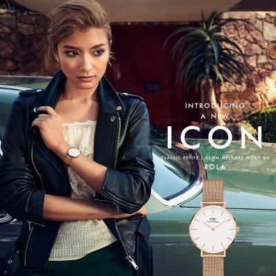 ローラも着用したダニエルウェリントンの腕時計