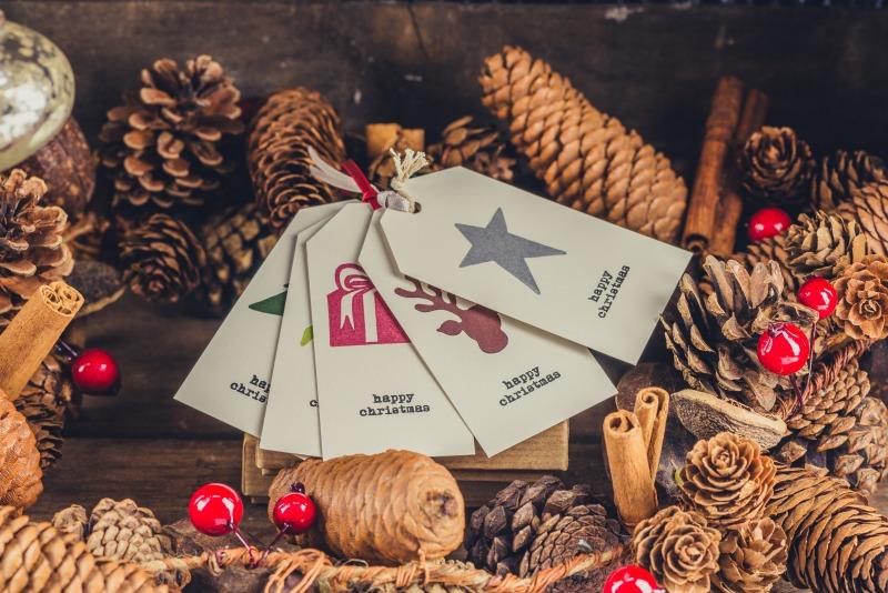 クリスマスプレゼントのカード