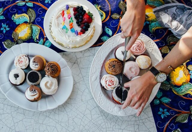 ケーキがたくさん