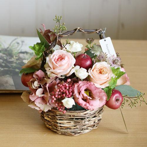 青山フラワーマーケットの花束1