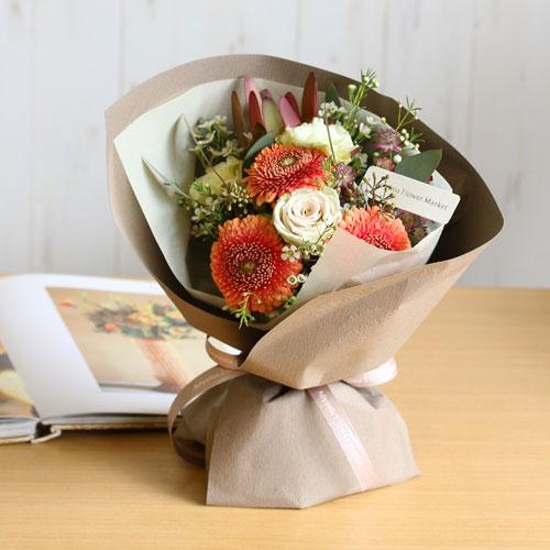 青山フラワーマーケットの花束2