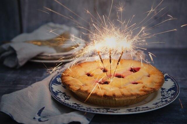 パーティのケーキ