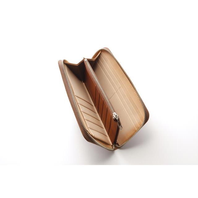 エルゴポックのラウンドファスナー長財布の内部