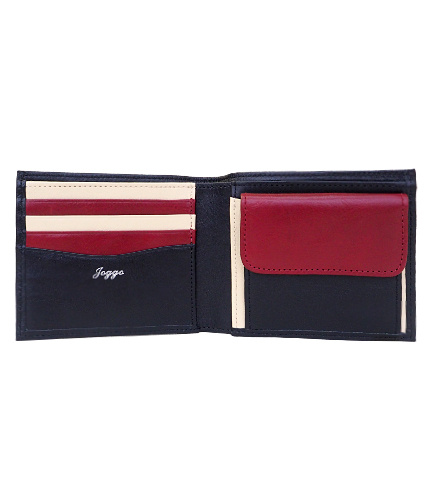 JOGGO本革二つ折り財布の写真