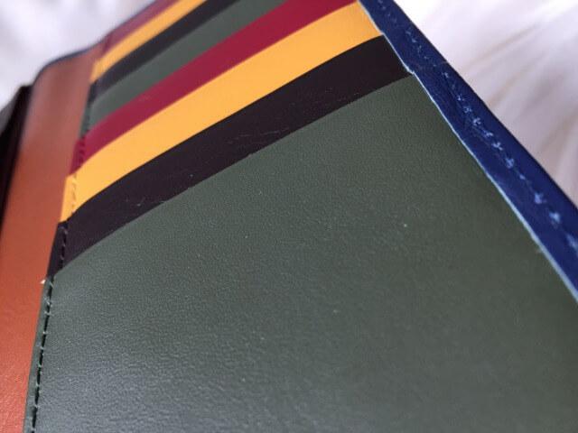 JOGGO本皮長財布のフォレストグリーン