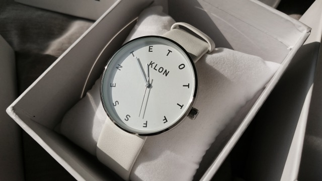 KLONのALPHABET TIME THE WATCH