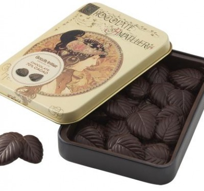 アマリエリーフチョコレート大缶「ビザンチン」