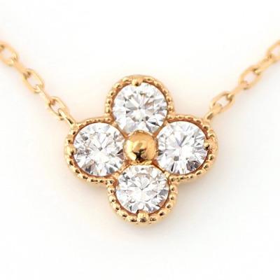 bizoux ビズー ダイヤモンド(VS-SIクラス)×18Kゴールドネックレス・アナイス
