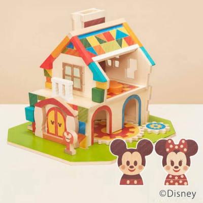 ディズニーキャラクターの木製積木 Disney | KIDEA