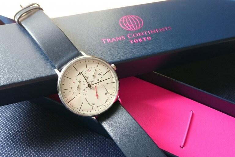 プレゼントに最適なTRANS CONTINENTS(トランス コンチネンツ)の腕時計