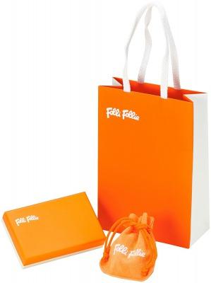 Folli Follie FASHIONABLY SILVER MISS H4Hピアス ギフトラッピングの写真