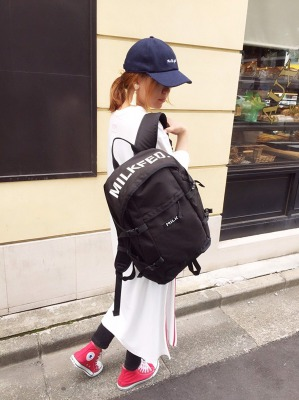 LOGO PRINT BIG BACKPACK_2