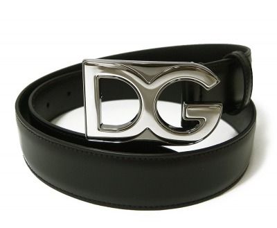 Dolce&Gabbana(ドルチェ&ガッバーナ) ベルト メンズ レザー DGロゴ バックル
