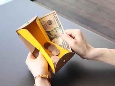 cartolare(カルトラーレ) ハンモックウォレット 二つ折り財布