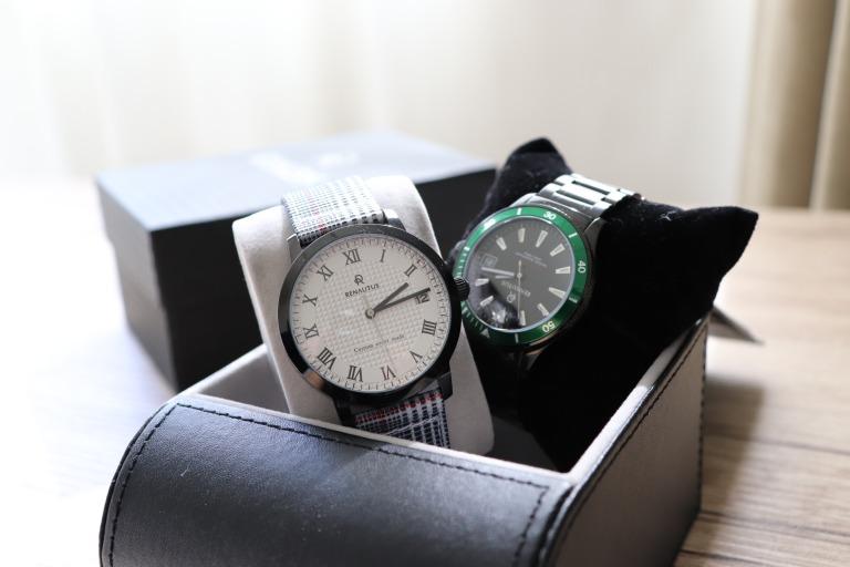 【写真大量】ルノータスの腕時計をペアで2本購入!品質は?口コミは?