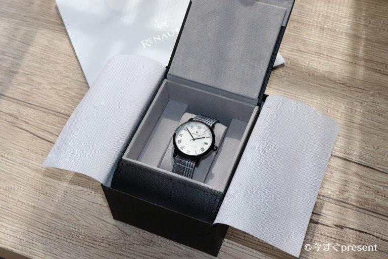 ルノータス(RENAUTUS)の腕時計のボックス