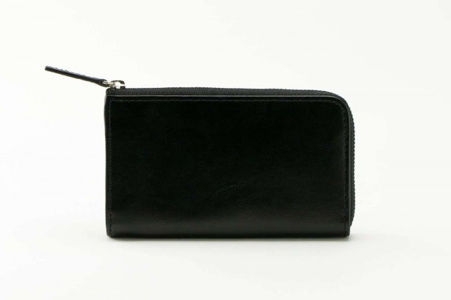 business leather factory マルチウォレット