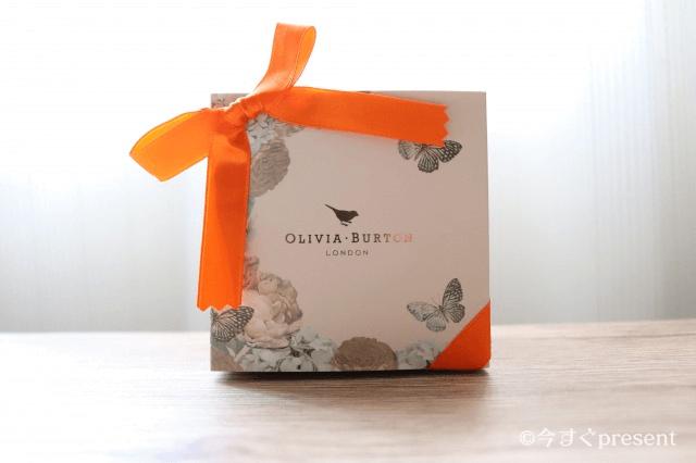 Olivia Burtonのロゴが書かれたボックス