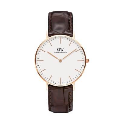 Daniel Wellington ヨーク/ローズ 36mm 腕時計 Classic York