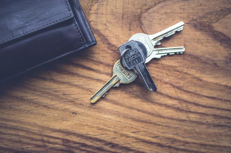 キーケースと鍵