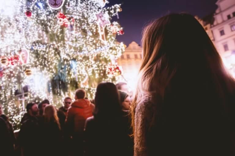 彼女と過ごすクリスマスのイメージ