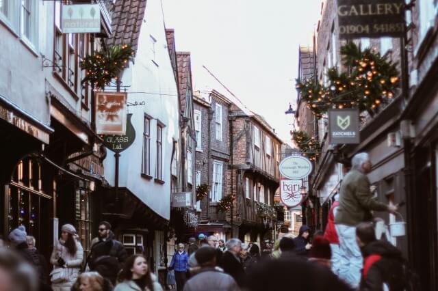 クリスマスの街