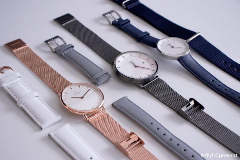 Nordgreen_icoが持っている腕時計・ベルト全部