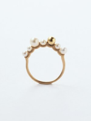simmon 7 BUNNY TAIL RING