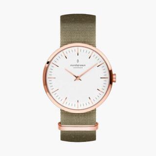 Nordgreen_グリーンナイロン_腕時計_商品画像