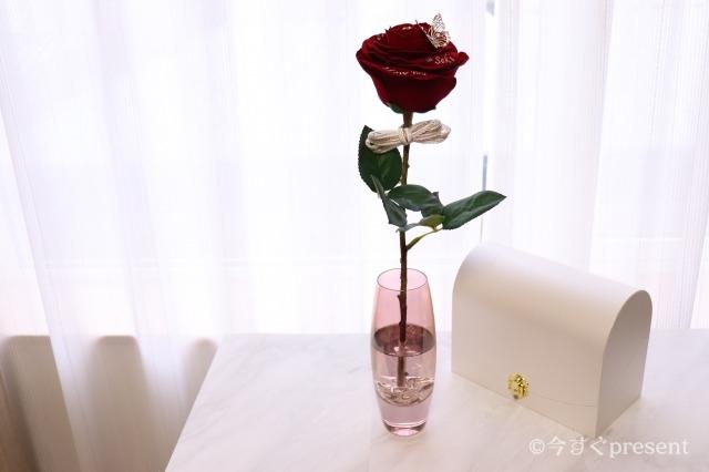 メリアルームメン_赤いバラ