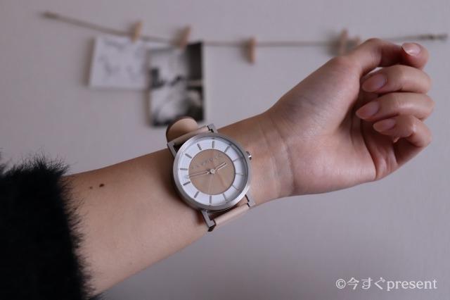 +LUMBER 腕時計_icoが身に着けた写真