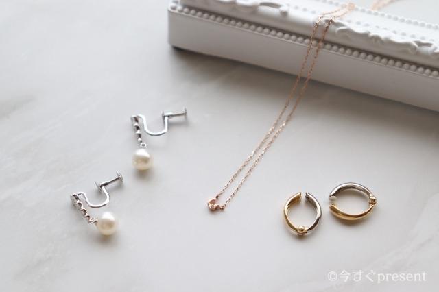 心葉(こころば)_JewelryROLA_イヤリング_ネックレス