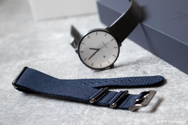 Nordgreenの腕時計とナイロンストラップ1本