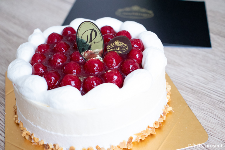 カサミンゴー_最高級洋菓子 シュス木苺レアチーズケーキ
