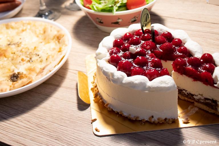 カサミンゴー_おいしいケーキ