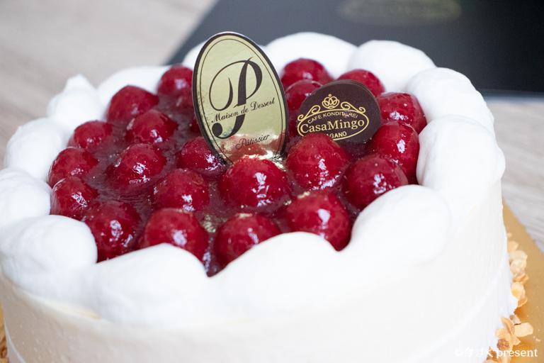 カサミンゴー_注文したケーキ