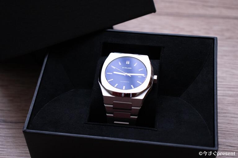 購入したD1ミラノの腕時計