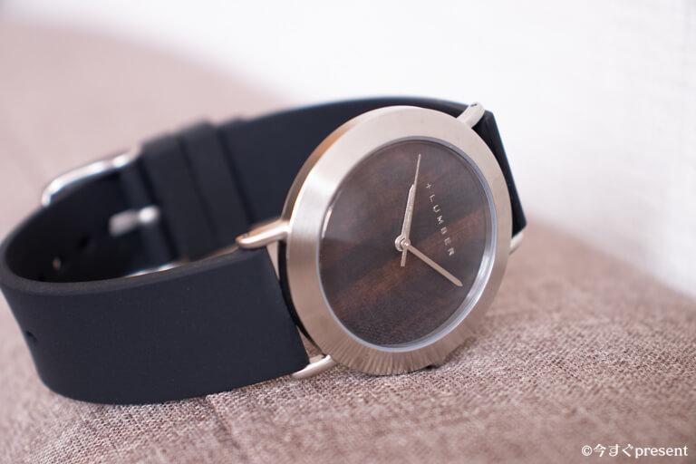 +LUMBER_腕時計_シリコンベルト
