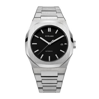 D1 MILANO_P701 Automatic Watch Silver Case with Silver Bracelet_商品写真