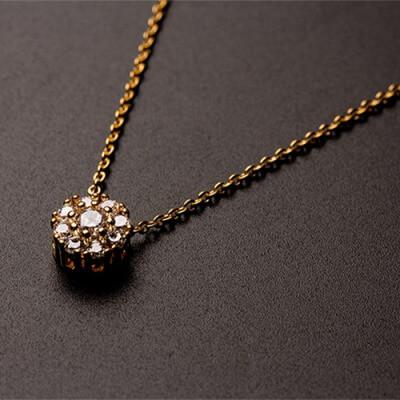 ダイヤライクネックレス LANA_商品写真