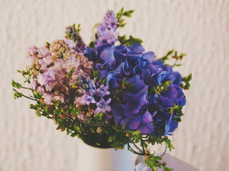 喜寿祝いの花束