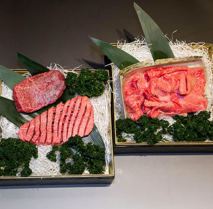 松阪牛やまと_二段重 梅_商品写真