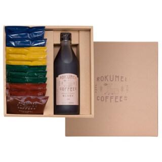 ROKUMEI COFFEE CO. ロクメイコーヒー カフェベース & ドリップバッグ 詰め合わせ
