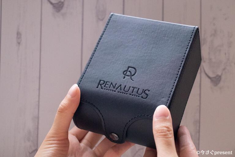 ルノータス_革製のボックス