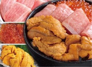 マグロの吉井 豪華海鮮三色丼