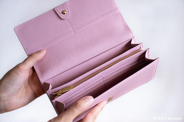 AETHER エーテル 財布 サクラ・ジャルダン カードポケット