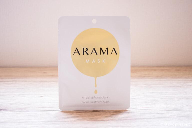 Arama Mask アラママスクのパッケージ写真