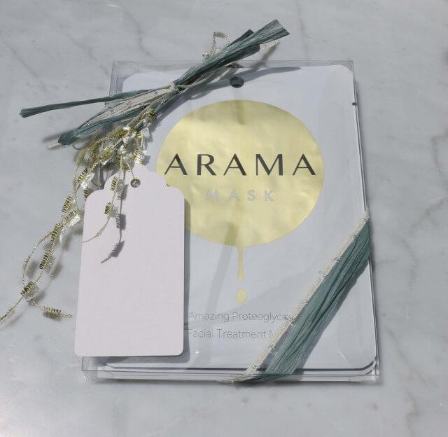 Arama Mask アラママスク 3枚入りギフト
