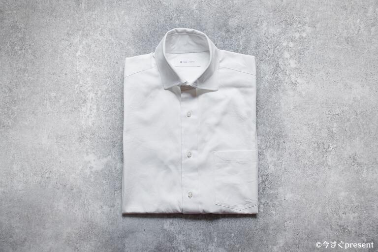 FABRIC TOKYO_オーダーしたホワイトシャツ2