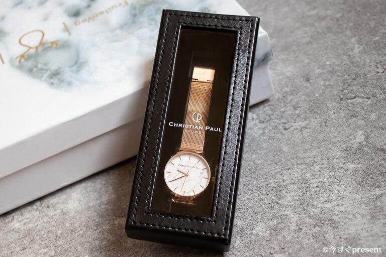 クリスチャンポール 腕時計 ボックス